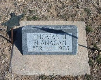 FLANAGAN, THOMAS J - Wichita County, Kansas | THOMAS J FLANAGAN - Kansas Gravestone Photos