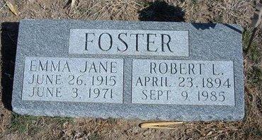 FOSTER, ROBERT L - Wichita County, Kansas | ROBERT L FOSTER - Kansas Gravestone Photos