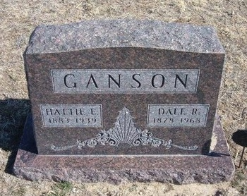 MEADOWS GANSON, HATTIE EVA - Wichita County, Kansas | HATTIE EVA MEADOWS GANSON - Kansas Gravestone Photos
