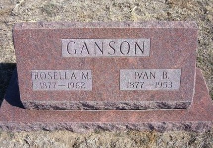 GANSON, IVAN B - Wichita County, Kansas | IVAN B GANSON - Kansas Gravestone Photos