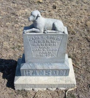 GANSON, KARL E - Wichita County, Kansas | KARL E GANSON - Kansas Gravestone Photos