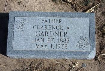 GARDNER, CLARENCE A - Wichita County, Kansas | CLARENCE A GARDNER - Kansas Gravestone Photos