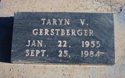 GERSTBERGER, TARYN V - Wichita County, Kansas   TARYN V GERSTBERGER - Kansas Gravestone Photos