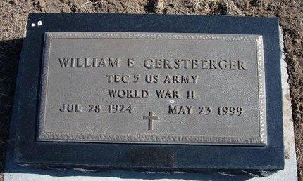 GERSTBERGER, WILLIAM E  (VETERAN WWII) - Wichita County, Kansas | WILLIAM E  (VETERAN WWII) GERSTBERGER - Kansas Gravestone Photos