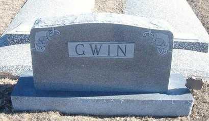GWIN, FAMILY STONE - Wichita County, Kansas   FAMILY STONE GWIN - Kansas Gravestone Photos