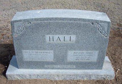 HALL, ELLA C - Wichita County, Kansas | ELLA C HALL - Kansas Gravestone Photos