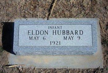 HUBBARD, ELDON - Wichita County, Kansas | ELDON HUBBARD - Kansas Gravestone Photos