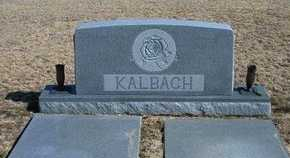 KALBACH FAMILY GRAVESTONE,  - Wichita County, Kansas |  KALBACH FAMILY GRAVESTONE - Kansas Gravestone Photos