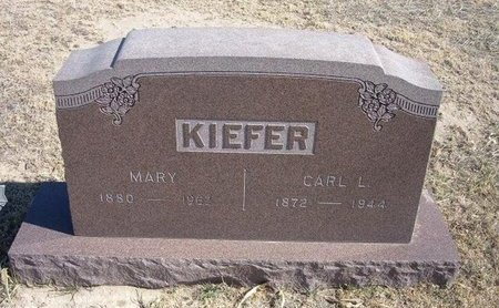 KIEFER, CARL LUDWICK - Wichita County, Kansas | CARL LUDWICK KIEFER - Kansas Gravestone Photos