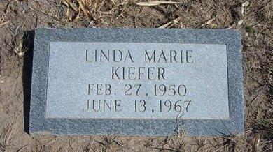 KIEFER, LINDA MARIE - Wichita County, Kansas | LINDA MARIE KIEFER - Kansas Gravestone Photos