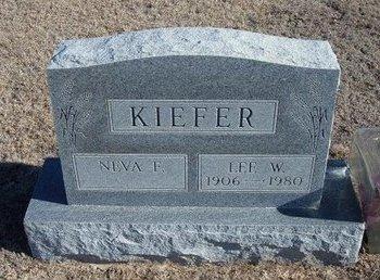 KIEFER, LEE W - Wichita County, Kansas | LEE W KIEFER - Kansas Gravestone Photos