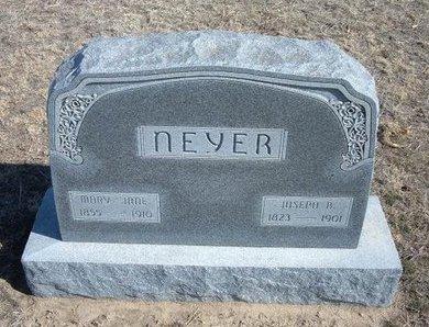 NEYER, JOSEPH B - Wichita County, Kansas | JOSEPH B NEYER - Kansas Gravestone Photos