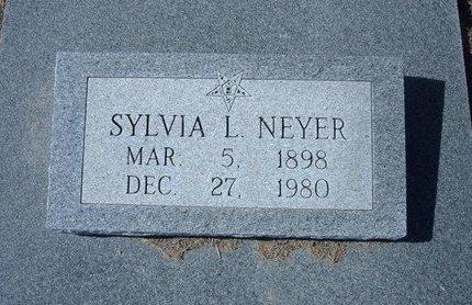 GOPPERT NEYER, SYLVIA L - Wichita County, Kansas | SYLVIA L GOPPERT NEYER - Kansas Gravestone Photos