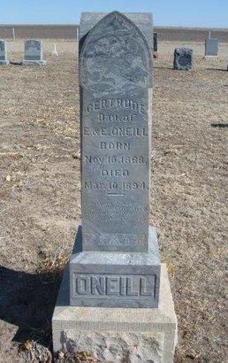 ONEILL, GERTRUDE - Wichita County, Kansas | GERTRUDE ONEILL - Kansas Gravestone Photos