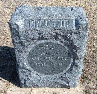 PROCTOR, DORA I - Wichita County, Kansas | DORA I PROCTOR - Kansas Gravestone Photos