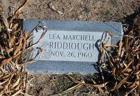RIDDIOUGH, LEA MARCHELL - Wichita County, Kansas | LEA MARCHELL RIDDIOUGH - Kansas Gravestone Photos