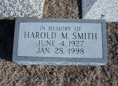 SMITH, HAROLD M - Wichita County, Kansas | HAROLD M SMITH - Kansas Gravestone Photos