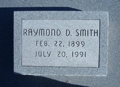 SMITH, RAYMOND D - Wichita County, Kansas | RAYMOND D SMITH - Kansas Gravestone Photos