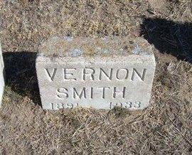 SMITH, VERNON BURTON - Wichita County, Kansas   VERNON BURTON SMITH - Kansas Gravestone Photos