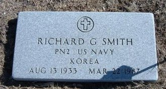 SMITH, RICHARD G  (VETERAN KOR) - Wichita County, Kansas | RICHARD G  (VETERAN KOR) SMITH - Kansas Gravestone Photos