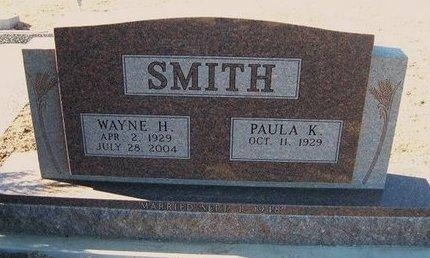 SMITH, WAYNE H - Wichita County, Kansas | WAYNE H SMITH - Kansas Gravestone Photos