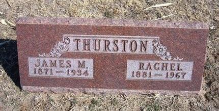 THURSTON, RACHEL - Wichita County, Kansas   RACHEL THURSTON - Kansas Gravestone Photos