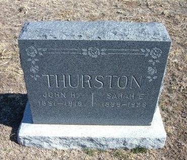 THURSTON, JOHN H. - Wichita County, Kansas | JOHN H. THURSTON - Kansas Gravestone Photos