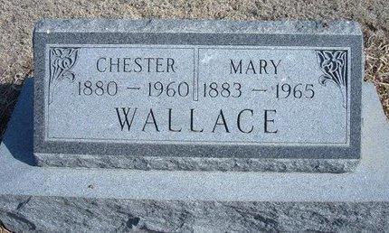 WALLACE, MARY - Wichita County, Kansas | MARY WALLACE - Kansas Gravestone Photos