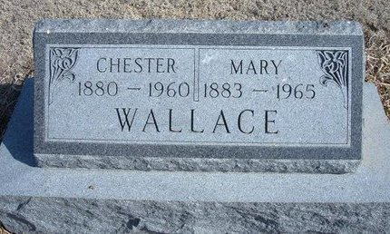 WALLACE, CHESTER ARTHUR - Wichita County, Kansas | CHESTER ARTHUR WALLACE - Kansas Gravestone Photos