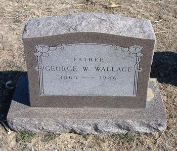 WALLACE, GEORGE WASHINGTON - Wichita County, Kansas | GEORGE WASHINGTON WALLACE - Kansas Gravestone Photos