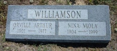 WILLIAMSON, ORVILLE ARTHUR - Wichita County, Kansas | ORVILLE ARTHUR WILLIAMSON - Kansas Gravestone Photos
