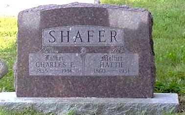 SHAFER, HATTIE - Wilson County, Kansas | HATTIE SHAFER - Kansas Gravestone Photos