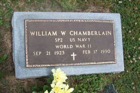 CHAMBERLAIN, WILLIAM WEVER   (VETERAN WWII) - Wilson County, Kansas   WILLIAM WEVER   (VETERAN WWII) CHAMBERLAIN - Kansas Gravestone Photos