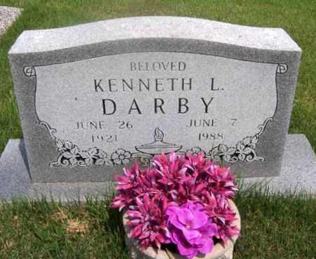 DARBY, KENNETH LORAINE - Wilson County, Kansas | KENNETH LORAINE DARBY - Kansas Gravestone Photos