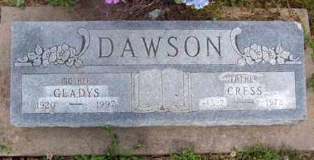 DAWSON, DERBY CRESS - Wilson County, Kansas | DERBY CRESS DAWSON - Kansas Gravestone Photos