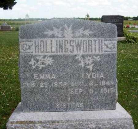 HOLLINGSWORTH, LYDIA - Wilson County, Kansas   LYDIA HOLLINGSWORTH - Kansas Gravestone Photos