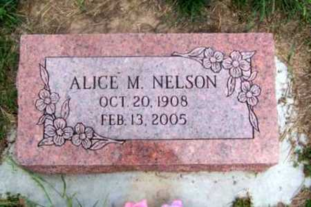 NELSON, ALICE MAY - Wilson County, Kansas | ALICE MAY NELSON - Kansas Gravestone Photos