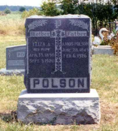 JESSEE POLSON, ELIZA - Wilson County, Kansas | ELIZA JESSEE POLSON - Kansas Gravestone Photos