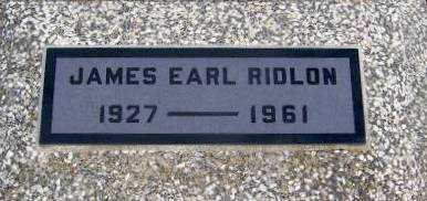 RIDLON, JAMES EARL   (VETERAN WWII) - Wilson County, Kansas | JAMES EARL   (VETERAN WWII) RIDLON - Kansas Gravestone Photos