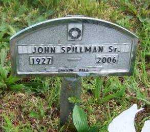 SPILLMAN, JOHN SMITH SR - Wilson County, Kansas   JOHN SMITH SR SPILLMAN - Kansas Gravestone Photos