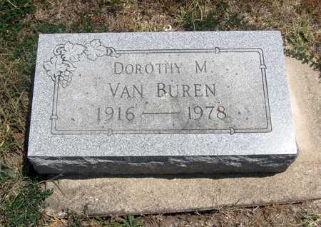 VAN BUREN, DOROTHY M - Wilson County, Kansas   DOROTHY M VAN BUREN - Kansas Gravestone Photos