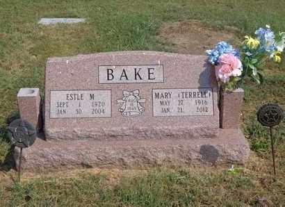 BAKE, MARY - Woodson County, Kansas | MARY BAKE - Kansas Gravestone Photos