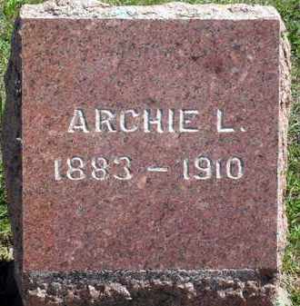 BUTLER, ARCHIE M - Woodson County, Kansas   ARCHIE M BUTLER - Kansas Gravestone Photos