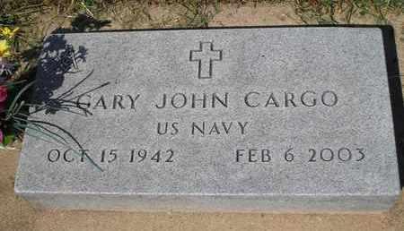 CARGO, GARY JOHN   (VETERAN) - Woodson County, Kansas   GARY JOHN   (VETERAN) CARGO - Kansas Gravestone Photos