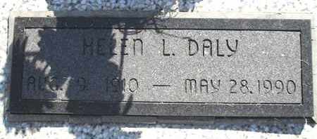 DALY, HELEN L - Woodson County, Kansas | HELEN L DALY - Kansas Gravestone Photos