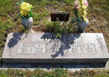 DAME, FLOYD A - Woodson County, Kansas   FLOYD A DAME - Kansas Gravestone Photos