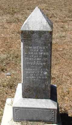 DEWITT, INFANT SON - Woodson County, Kansas   INFANT SON DEWITT - Kansas Gravestone Photos