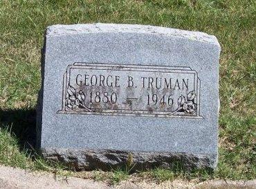 TRUMAN, GEORGE B - Woodson County, Kansas | GEORGE B TRUMAN - Kansas Gravestone Photos