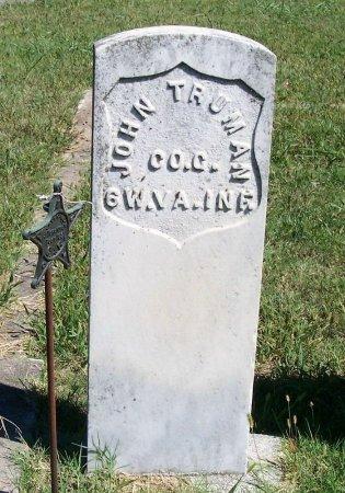 TRUMAN, JOHN (VETERAN UNION) - Woodson County, Kansas   JOHN (VETERAN UNION) TRUMAN - Kansas Gravestone Photos
