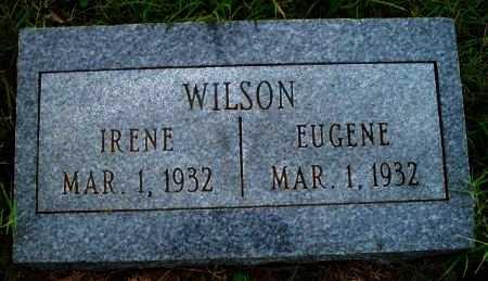 WILSON, EUGENE - Woodson County, Kansas | EUGENE WILSON - Kansas Gravestone Photos